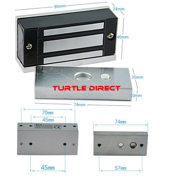 Gate Automation Magnetic Lock For Sliding Amp Swing Gates