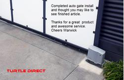 Sliding Gate Opener 24VDC