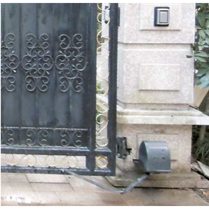 Turtle Articulated Swing Gate Opener