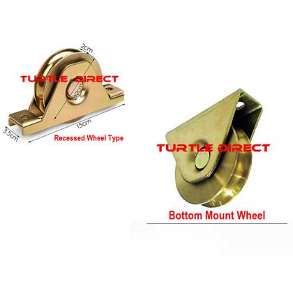 Castor Wheels (flat)