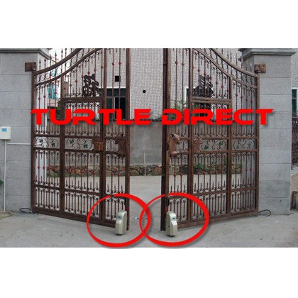 Wheel Type Swing Gate Opener Turtle Direct
